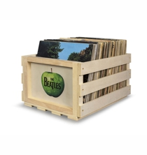 Record Storage Crate - The BEATLES Apple Label