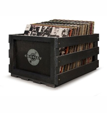 Record Storage Crate - Black