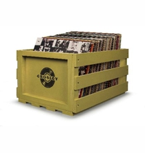 Record Storage Crate - Sage