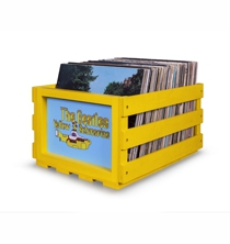 Record Storage Crate - The BEATLES Yellow Submarine