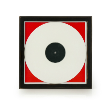 Wood Vinyl Record Frame - Black