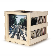 Stackable Record Storage Crate - The BEATLES Abbey Road