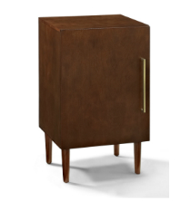 Crosley Everett Record Player Stand - Mahogany