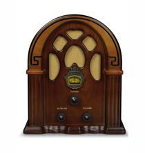 Companion Radio - Walnut