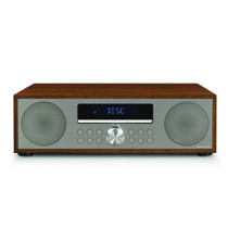 Fleetwood Clock Radio & CD Player - Walnut
