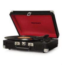 Crosley Cruiser Deluxe Turntable with Bluetooth - Black Vinyl