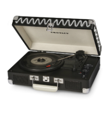 Crosley Cruiser Deluxe Turntable With Bluetooth - Chalkboard