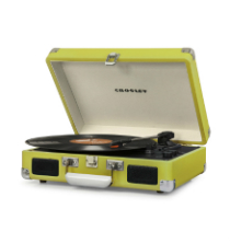 Crosley Cruiser Deluxe Turntable with Bluetooth - Green Vinyl