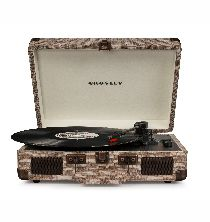 Crosley Cruiser Deluxe Turntable With Bluetooth - Havana Fabric