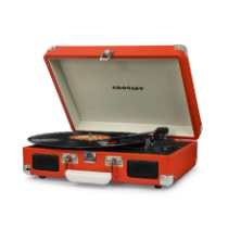 Crosley Cruiser Deluxe Turntable with Bluetooth - Orange Vinyl