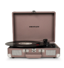 Crosley Cruiser Deluxe Turntable with Bluetooth - Purple Ash