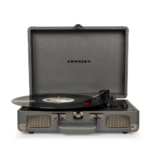 Cruiser Deluxe Turntable with Bluetooth - Slate