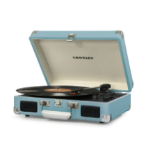 Crosley Cruiser Deluxe Turntable with Bluetooth - Turquoise Vinyl