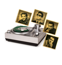 RSD3 Mini Turntable for<BR>3 Inch Vinyl Records w/Sun Records Set of 4