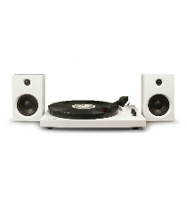 T100 Turntable System - White