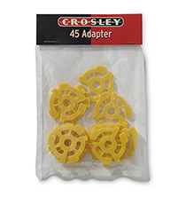 45 RPM Adapter - Pack of 12
