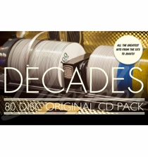 "CD Pack ""decades"" - 80 CD"