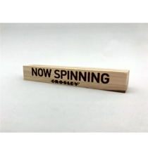 Mini Now Spinning 3'' Vinyl Record Display - Minimum Order of 4